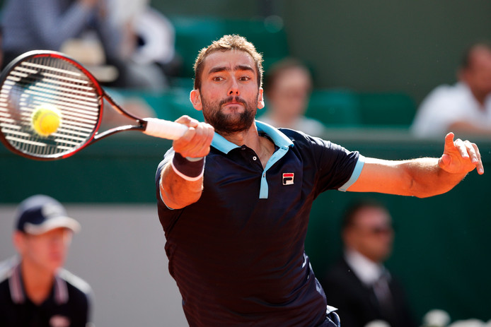 Roland Garros Handdoek.Cilic In Kwartfinales Na Opgave Anderson Roland Garros Ad Nl