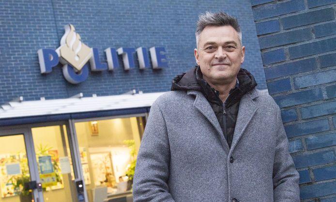 Arjan Derksen is sinds kort de chef van de recherche in Twente.
