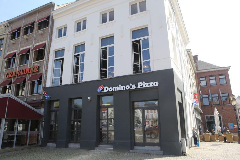 Domino's Pizza opent dinsdag de deuren.