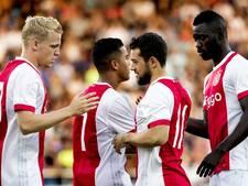 Ajax reist met groep van 19 spelers af naar Nice