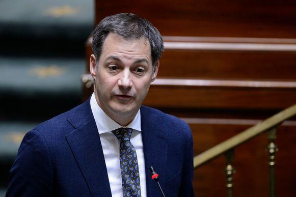 Minister van Financiën Alexander De Croo.