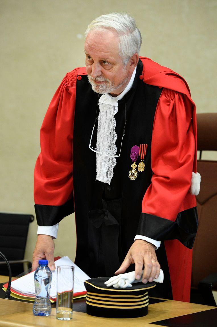 Voorzitter Michel Jordens.