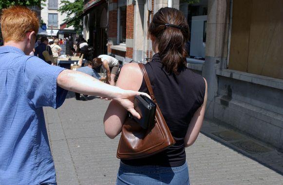 Illustratiefoto: actie tegen gauwdieven.