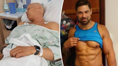 Van chemo tot sixpack: man (30) deelt foto's van ongelofelijke transformatie die hij in amper 6 maanden tijd onderging