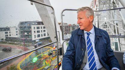 """Uitbater reuzenrad dat ook op kermis Aalter staat, verongelukt bij afbraak: """"Als eerbetoon aan Denis blijft het rad in september welkom"""""""