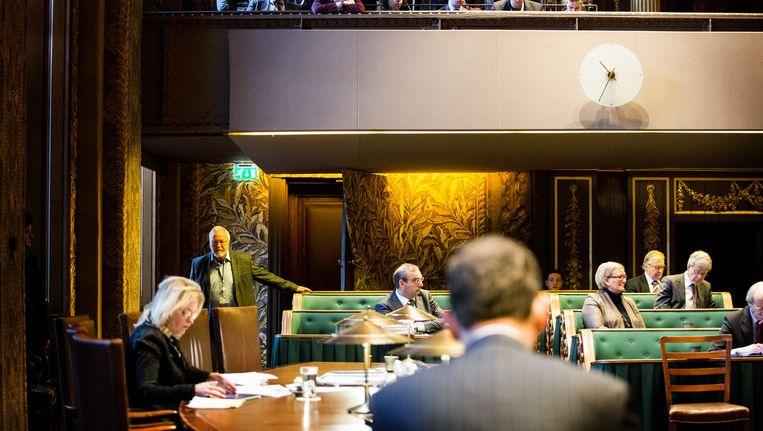Eerste Kamer debatteert over het leenstelsel. Beeld ANP