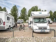 Plek voor campers op locatie varkensschuur in Reutum