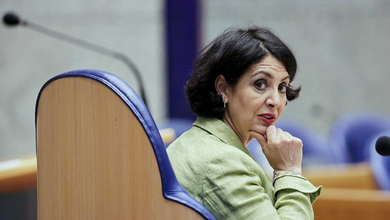 Kamervoorzitter Khadija Arib Beeld anp