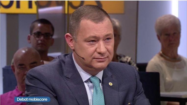 Burgemeester Peter Reekmans (Dorpspartij) deed zondag zijn relaas in De Zevende Dag.