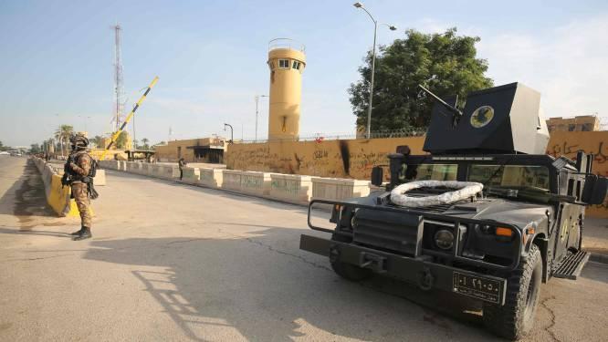Raket slaat vlakbij Amerikaanse ambassade in Bagdad in