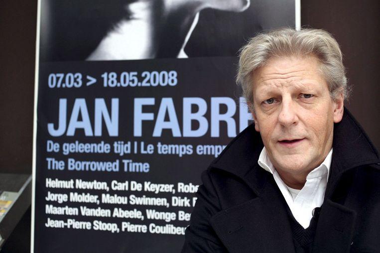 Jan Fabre in 2008. Beeld anp