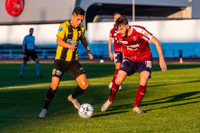 07-01-2020: Voetbal: Vitesse v Servette: Vila Real de Santo Antonio L-R Vitesse player Navarone Foor