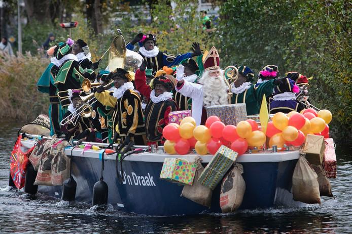 De intocht van Sinterklaas, een jaar geleden.