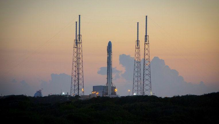 Archieffoto van de Falcon-9-raket. Beeld afp