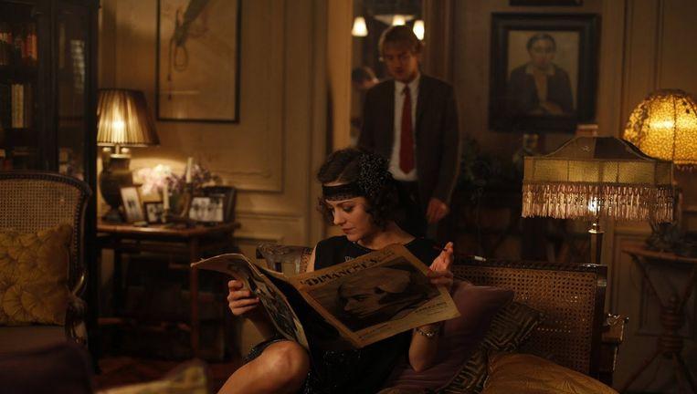 Marion Cotillard en Owen Wilson in Midnight in Paris. Beeld
