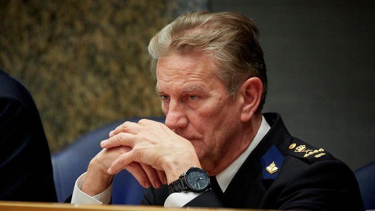 Oud-korpschef Gerard Bouman. Beeld anp