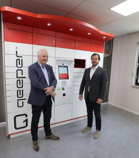 'Lockerkoning' Quispel uit Deurne sluit kastjes aan op internet