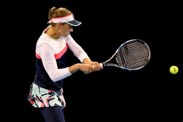 Elise Mertens ging in Peking in de openingsronde voorbij Cibulkova.