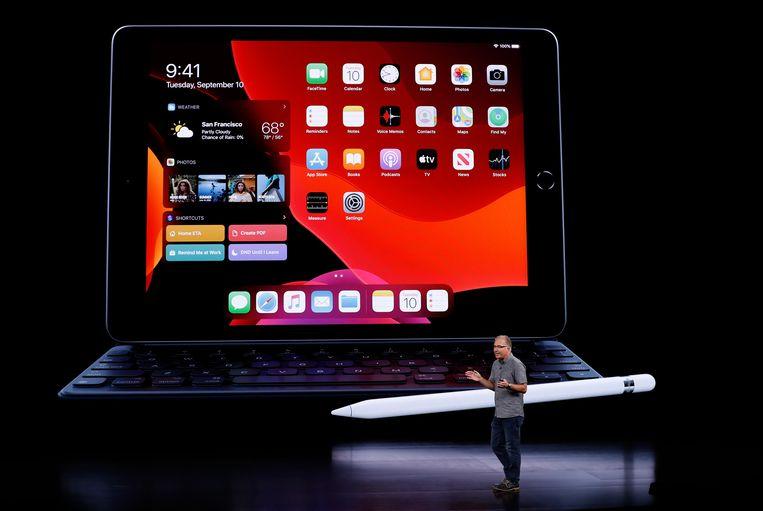 De nieuwe iPad.