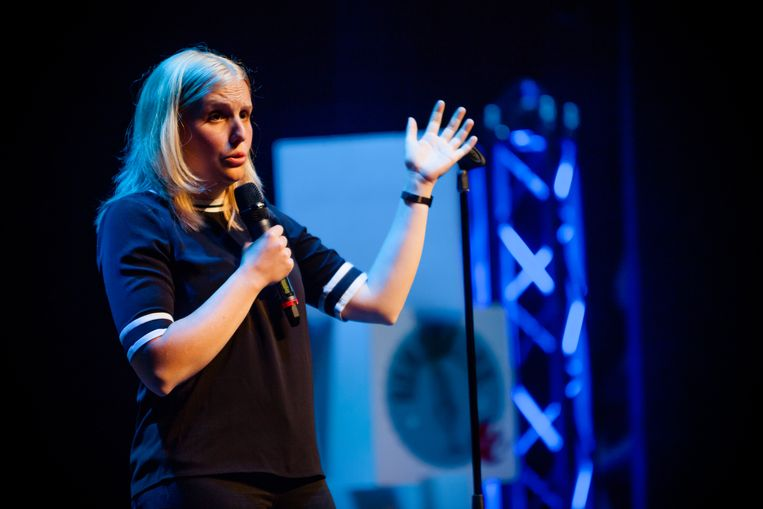 Amelie Albrecht won Humo's Comedy Cup