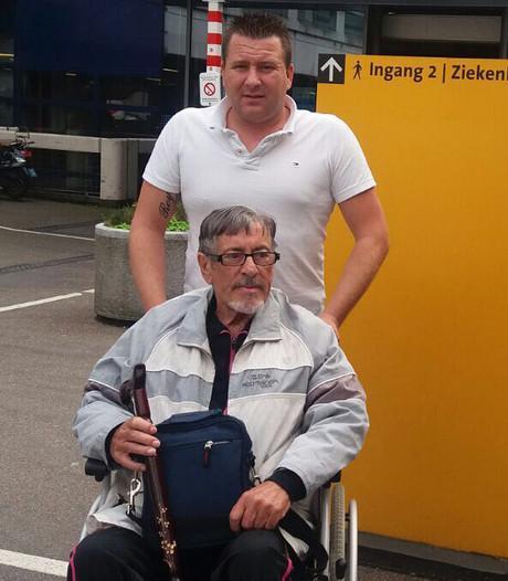 Oud-chauffeur blijft geld inzamelen voor ernstig zieke Gert Timmerman