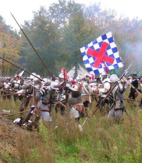 Musketier doorboort buik toeschouwer bij Slag om Bergh: 'Ik was bijna doodgeschoten'