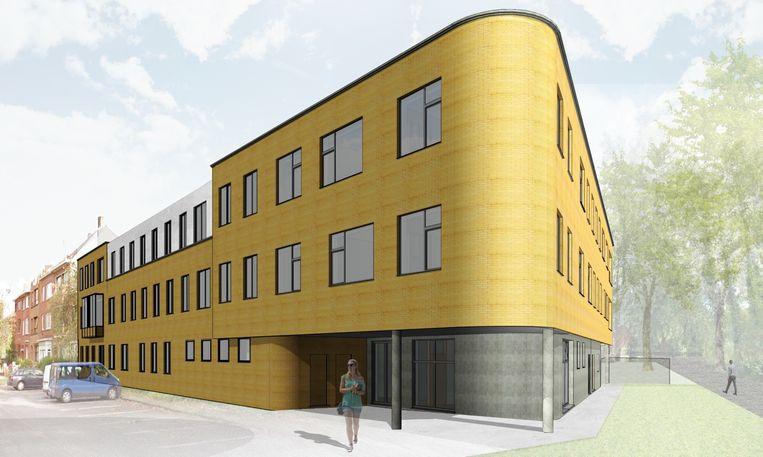 De nieuwbouw moet vooral functioneel zijn, en op maat van de leerlingen.