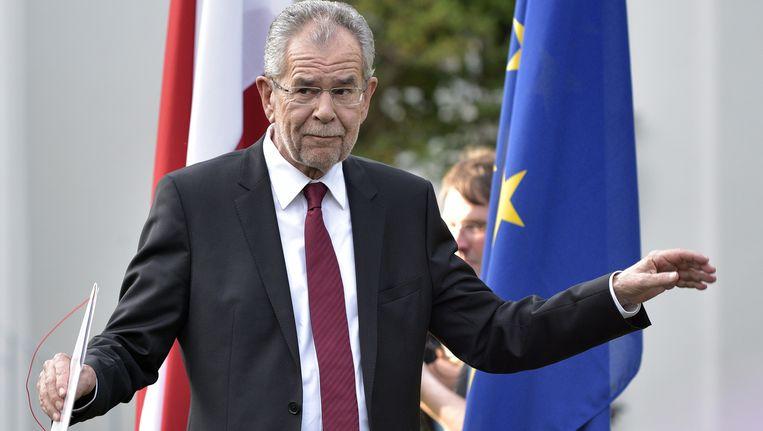 Alexander van der Bellen nieuwe president van Oostenrijk. Beeld ap