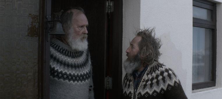 Theodór Júlíusson (links) en Sigurður Sigurjónsson in Rams. Beeld