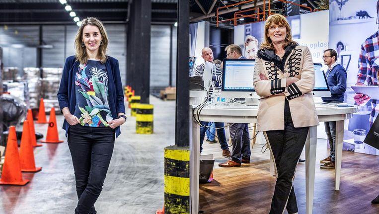 Cindy Visser en Enny van de Velden staan allebei aan het hoofd van een familiebedrijf. Beeld null