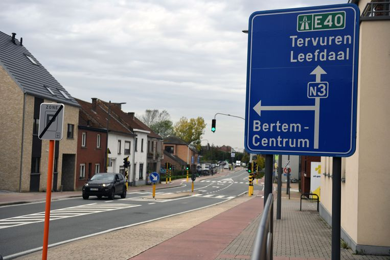 Tervuursesteenweg in Bertem