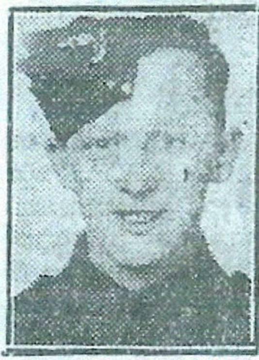 William Loney, Britse soldaat, omgekomen op de Utrechtseweg in Arnhem tijdens gevechten met Duitse troepen op 17 september 1944.