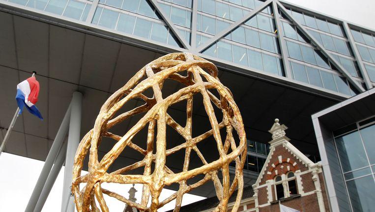 De trofee voor het hoofdkantoor van Unilever. (2012) Beeld anp