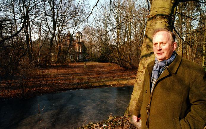 Ewald Marggraff op zijn landgoed Zionsburg, bijna vier maanden voor zijn overlijden.