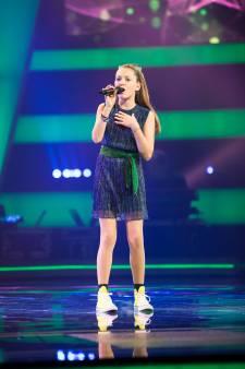 Utrechtse Stella gaat 'heel relaxed' naar finale The Voice Kids
