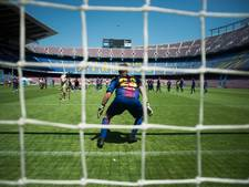 Lentink houdt de nul en neemt speciaal souvenir mee uit Camp Nou