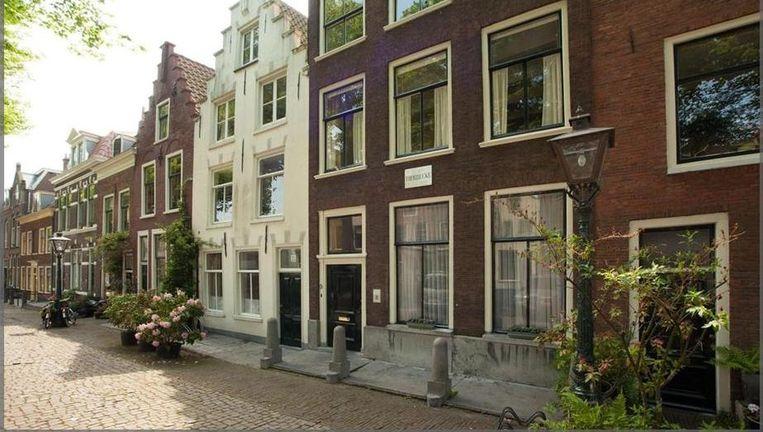 'Dat het pand van de liberale staatsman is geweest, is ook in Leiden niet algemeen bekend'. Beeld van Funda