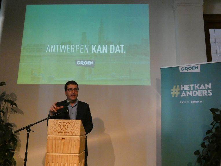 Lijsttrekker Wouter Van Besien.