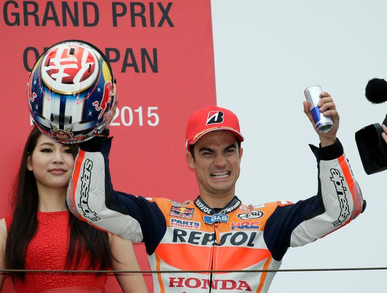 Pedrosa viert zijn eerste overwinning van het seizoen