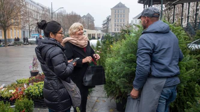 Kerstbomenmarkt op Kouter mag doorgaan