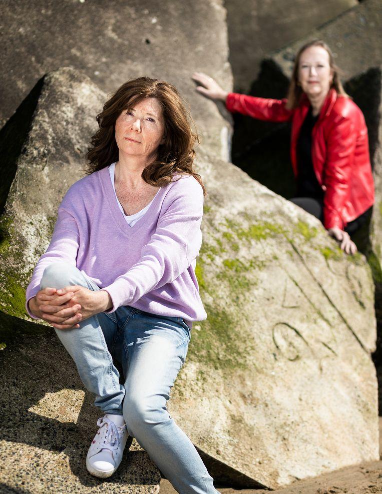 Renate van der Zee (rechts) en Justine le Clercq (links). Beeld null
