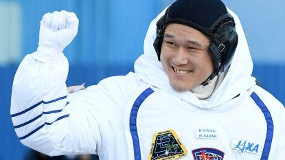 Oeps: groeischeut van Japanse astronaut te groot door meetfout
