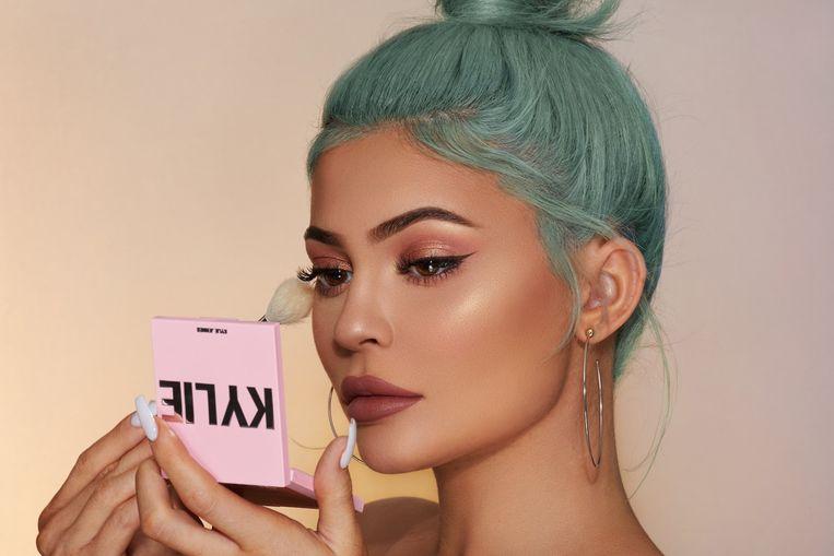 Campagnebeeld van Kylie Cosmetics.
