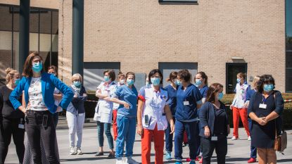 Vliegbasis Kleine-Brogel brengt eresaluut aan medewerkers Mariaziekenhuis nadat werkneemster Sonja intensieve zorgen mag verlaten