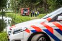 Drugsafval gevonden aan de Cortenbachsendijk in Nuenen