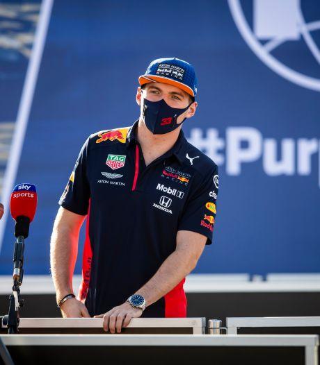 Ondanks groot gat met Mercedes blijft Verstappen pushen