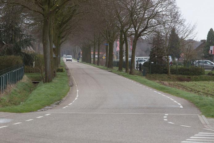 Langs de Meijelseweg in Heusden wordt een fietspad aangelegd.