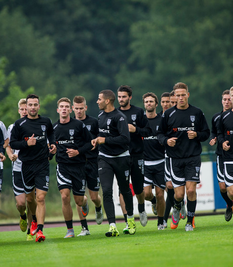 Heracles oefent tegen SVZW