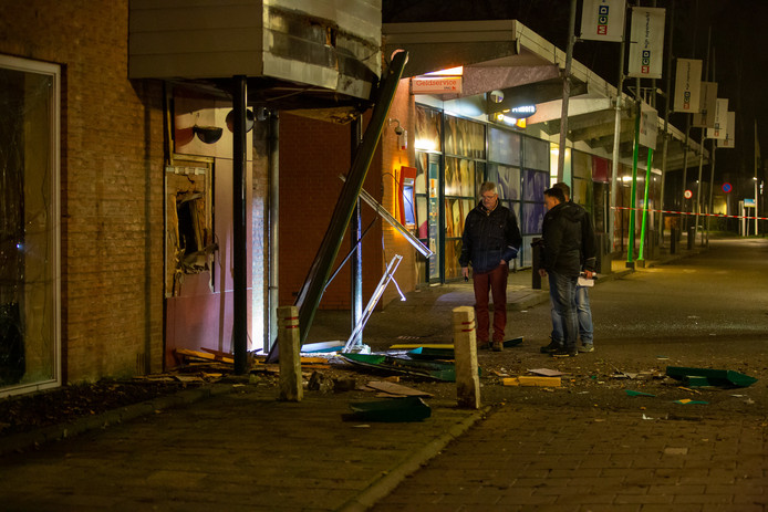 Plofkraak in Bergen op Zoom.