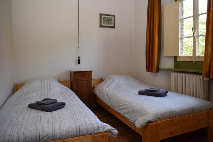 Tweepersoonskamer in Het Klooster Breda.